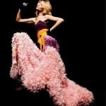 Linda Vojtova by Mark Pillai (Crazy Couture - Elle Italia May 2011) 2